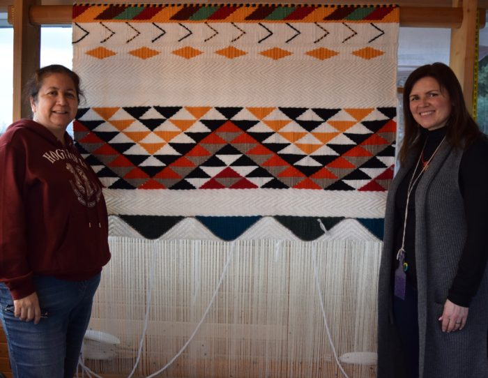 Artist weaves Tsleil-Waututh governance model