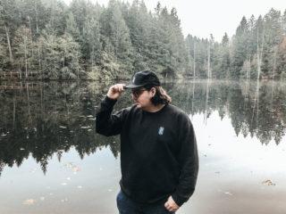 Snuneymuxw apparel raising funds for Tribal Journeys welcome figure