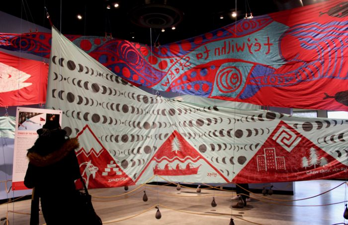 Exhibit featuring colourful blockade banners opens in Vancouver