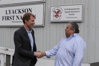 Minister Miller, Chief Thomas meet at Halalt