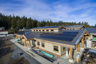 Malahat Nation looks to sustainable future with solar installation
